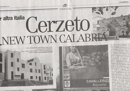 cerzeto new town calabria