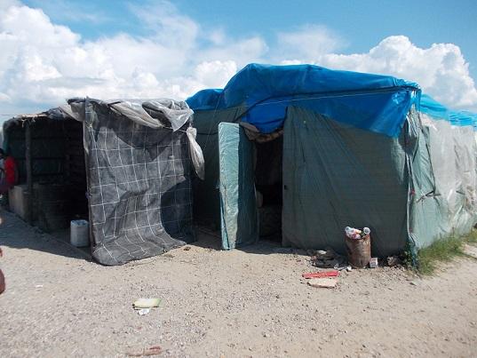 la baracca in cui è stato ucciso Sekine - 2